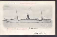 Boats-steamers-tankers-103 postcards, including picture postcards