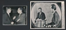 Inconnu/Associated Press -  John F. Kennedy and Richard Nixon, presidential nationally-televised debates, 1960