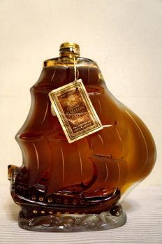 Prunier Cognac Galleon Extra - bottled 1970s