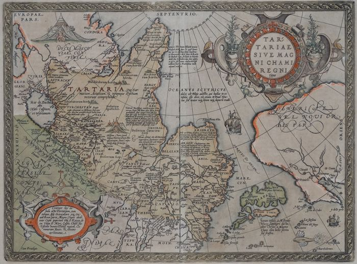 Tartary, Russia, China, Japan and the West Coast of North America ...