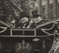 Unknown/New York Times Photos - Winston Churchill and Clement Attlee, 1940's