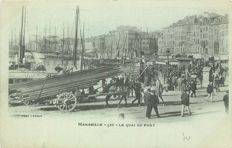 France - Department 13 - Bouches du Rhône - lot of 60 old cards of the city of Marseille - including 24 emerging cards