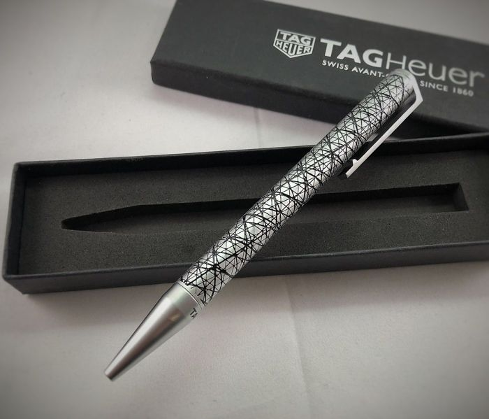 Tag Heuer Twist Art / Avant Garde Pen with Box  - 2018 -* No Reserve Price *