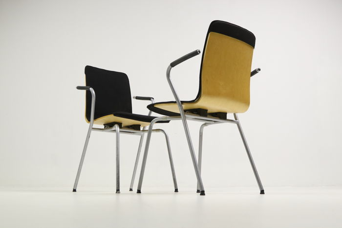 Vico Magistretti for Fritz Hansen – set of 4 'VicoDuo' chairs