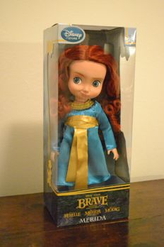Disney - Doll - Disney Animators Collection - Merida - Brave - 1st Edition (2011/2012)