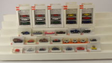 Busch H0 - 36 model cars of different car brands