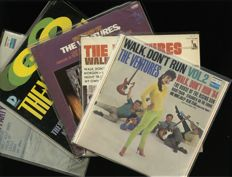 "Lot of five (5) vinyl albums by instrumental Pop & Rock group The Ventures incl. ""Walk don't run 1 & 2"", ""Go"", ""Underground fire"" and ""Beach party"""