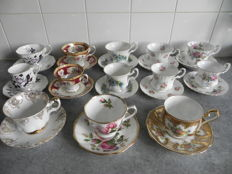 Royal Albert, mixed lot, cups and saucers: 5 Coffee 8 Tea