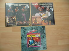 Bruce Springsteen - 3 rare live albums - Historic Opening Night + My Italian Home + Live USA