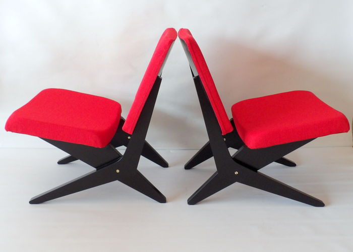Jan van Grunsven by UMS Pastoe - FB18 Scissor Chairs
