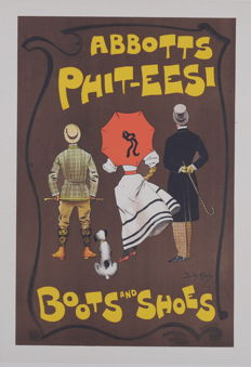 Dudley Hardy - Abbotts Phit-Eesi - Original lithograph poster from the 'Les Maitres de L'affiche' series
