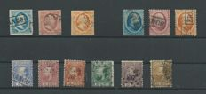 The Netherlands 1852/1867 - Classic selection - NVPH 1 to 12