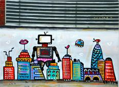 Maria Luisa Azzini - TV Robot City