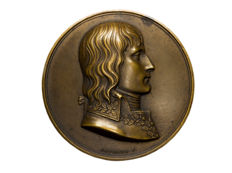 France - 'Napoleon Bonaparte - Battle of Montenotte 1796' medal by Gayrard & Denon - bronze