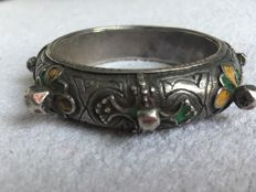 Antique silver Berber Bracelet - Morocco - 20th century