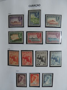 Dutch Antilles/Curaçao  1873/1996 - Collection in a Davo binder