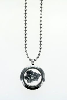 Fragment of the Moon in a medallion - 12.15 g