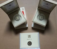 Vatican - 2 Euro 2017 'Peter & Paul' (3 pieces) in case and blister
