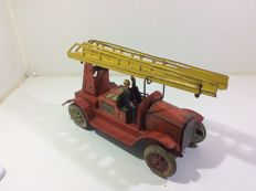 Tippco, Germany - Length 26 cm - Fire truck