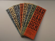 Bernlef, Schippers, Brands - BARBARBER, the last 2 volumes - 1970 / 1971