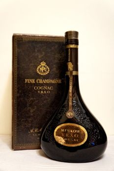 Meukow NPU V.R.X.O. - Bottled 1980s - 70cl/700ml - 40% vol./alc