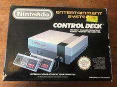 Boxed Nintendo NES Control Deck - boxed.