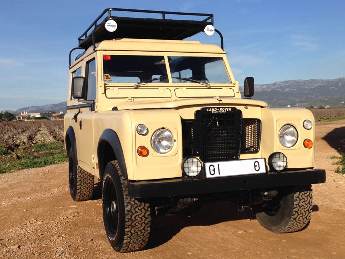 "land rover - santana serie iii especial 88"" diesel & overdrive"