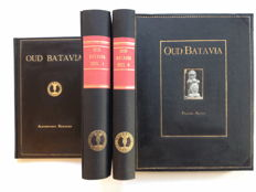 Indonesia; Dr. F. de Haan - Oud Batavia First edition - Special copy with the index - Four volumes - 1922/1923