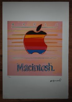 Macintosh Apple - Andy Warhol - Lithograph Georges Israel Editeur