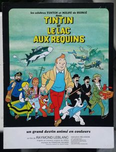Hergé - Press book - Tintin et le lac aux requins - sc - 1st edition (1972)