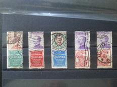 World - Collection from many countries, stamps and covers, on cards and in stock books