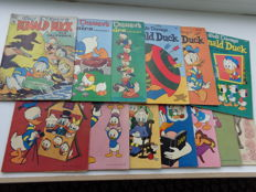Disney - 13 Amerikaanse uitgaven - o.a Walt Disney Comics and stories + Donald Duck - sc - (jaren '50)