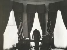 George Tames (1919-1994) - President John F. Kennedy, 'The loneliest job', Washington, 1961 / unknown - 1962