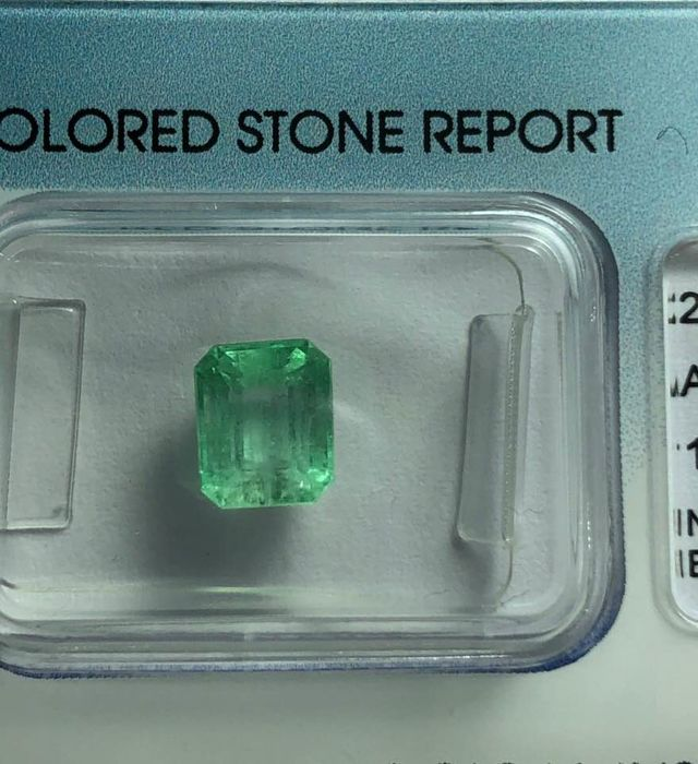 Emerald - 1.59 cts
