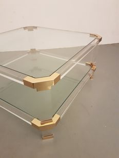 Producer unknown - coffee table in Hollywood Regency style