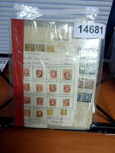 Austria - Pages with classic and a collection of FDCs