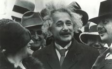 Unknown/The Prussian Heritage Image Archive/NYT- Albert Einstein with his wife Elsa Einstein / New theory of gravity - 1920s/1949