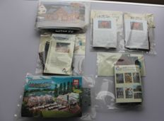 Faller/Holland scale/Piko H0 - gardening items, Dutch houses and a bakery