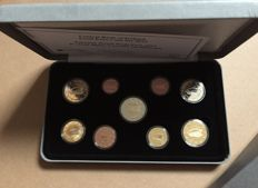 Ireland - Year pack Euro coins 2015 including 2 Euro '30 Years European Flag'