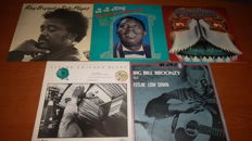 Lot of 10 great fine Blues-albums!!