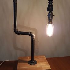Amazing industrial table lamp