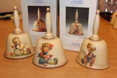 3 Hummel Goebel Annual Bells