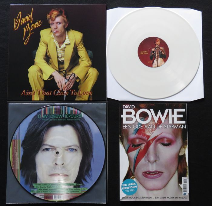 David Bowie: Great lot of 1x limited coloured LP, 1 Picture