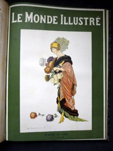 Le Monde illustré. Weekly newspaper - 2 complete years in 4 volumes - 1911/1912