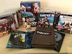 FARCRY 3 INSANE Collectors Edition PS3 Boxset + 10 Massive PS3 Games inc Uncharted 3 - Assassins Creed Brotherhood - Darkness & Lots More