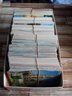 Lot with 600 postcards from the Netherlands - 60s until 1999 - in good circulated condition