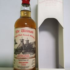 Dalmore 22 Years 1990 The Ultimate Sherry Butt Bottled 2012
