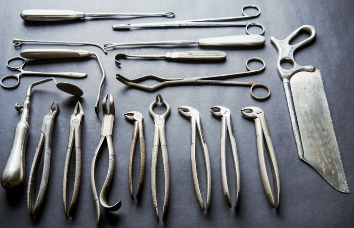 medical surgical instruments dentists tools catawiki