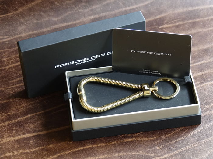 Original PORSCHE DESIGN key chain - key ring JEWEL P'3420