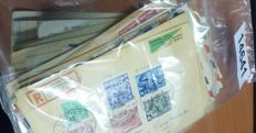 World – Batch of approx. 145 old postal items